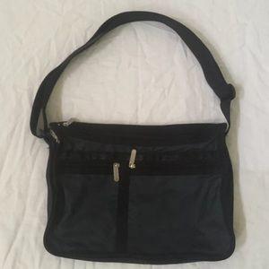 LeSportsac Black hobo bag